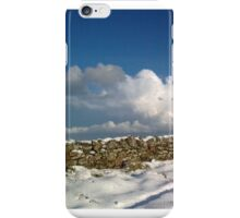 holy island in the xmas snow iPhone Case/Skin