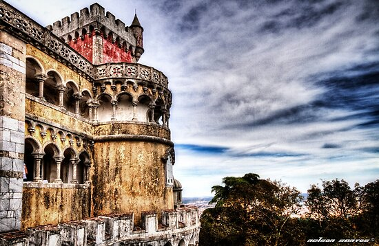 The Pena National Palace, Sintra - Portugal III by NSantos