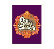 Om namah Shivaya  Art Print