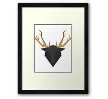 Trophy Hunters Lodge Framed Print