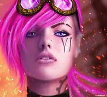 League Of Legends - Vi by mariafumada