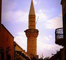 Turkish Minaret in Limassol by archecotech