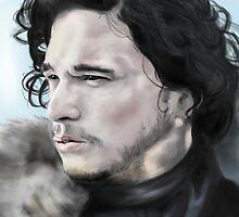 Jon Snow by RowanArthur93