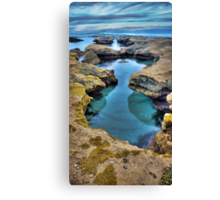 """Hour Glass"",Point Roadknight,Anglesea,Great Ocean Road,Australia. Canvas Print"