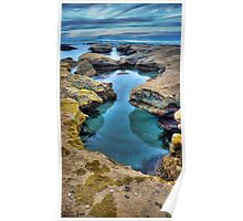 """""""Hour Glass"""",Point Roadknight,Anglesea,Great Ocean Road,Australia. Poster"""