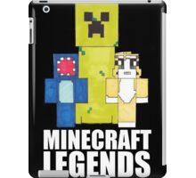 Squid And Stampy - Minecraft Legends iPad Case/Skin