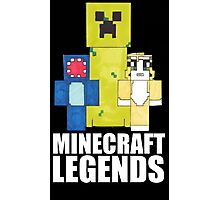 Squid And Stampy - Minecraft Legends Photographic Print