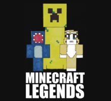 Squid And Stampy - Minecraft Legends Kids Clothes