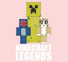 Squid And Stampy - Minecraft Legends Kids Clothes