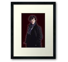Benadryl Cumberbund as: Sherlock Framed Print
