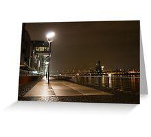 Rheinauhafen in Cologne, Germany Greeting Card