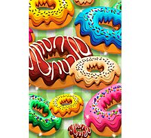 Donuts Party Time   Photographic Print