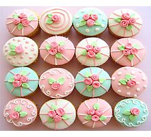 TREND OF CUPCAKES Photographic Print