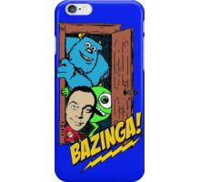 Monsters & Sheldon iPhone Case/Skin
