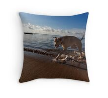 Every day is her day. Throw Pillow