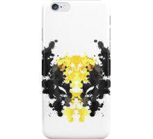 Wolverine Rorschach iPhone Case/Skin