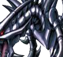 red eyes black dragon yugioh Sticker