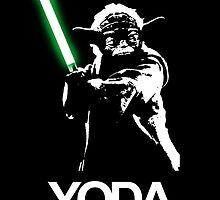 Yoda Illustration by dylantrotman