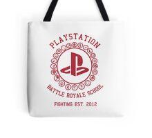 Playstation Battle Royale School (Red) Tote Bag