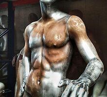 Male mannequin in storage by cherylkerkin
