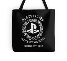 Playstation Battle Royale School (White) Tote Bag