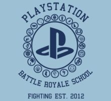 Playstation Battle Royale School (Blue) by Nguyen013
