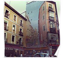 Street Art In Madrid Poster