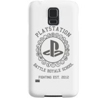 Playstation Battle Royale School (Grey) Samsung Galaxy Case/Skin