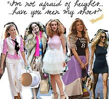 Carrie Bradshaw by rgord