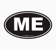 Maine ME Euro Oval by USAswagg