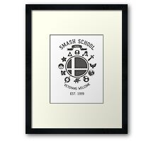 Smash School Veteran Class (Grey) Framed Print