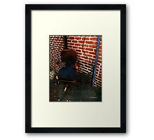 My Throne Framed Print