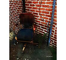My Throne Photographic Print
