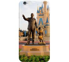 Walt Disney and Mickey Mouse  iPhone Case/Skin
