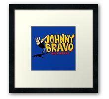 Johnny Bravo - Whoa Mamma! Framed Print