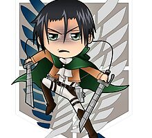Attack on Titan - Chibi Levi by zelinky