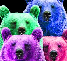 COLOR BEAR FAMILY by Zachary Garrison
