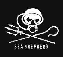 Sea Shepherd Diving Funny Kids Clothes