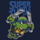Super Turtle Bros - Leo by Punksthetic