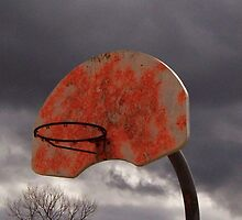 Neon Basketball by Nathan Little