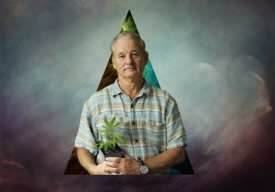 Bill Murray's Plant Life by Stewart Leach