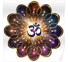 """""""The higher power of Om"""" - sacred geometry Poster"""
