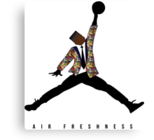 AIR FRESHNESS Canvas Print