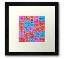 d29: psych tetris Framed Print