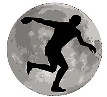 Discus Throw Moon by kwg2200