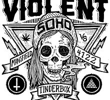 Violent Soho - Blazin Skull by mrrobinson