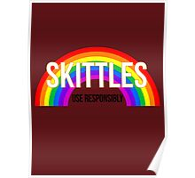 Don't Skittle & Drive Poster