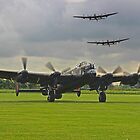 3 Lancasters - East Kirkby  by Colin J Williams Photography