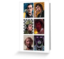 The Pythons - Beatles Tribute Poster Greeting Card