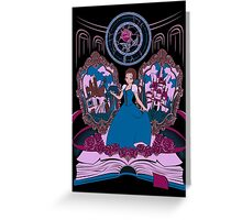 La Belle Greeting Card